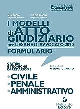 I Modelli Di ATTO GIUDIZIARIO Criteri e Tecniche Di Redazione: Civile, Penale E Amministrativo 2020
