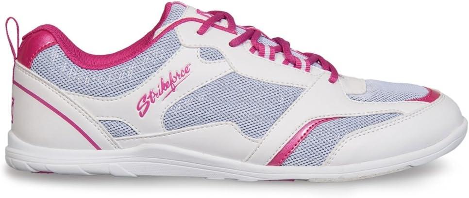KR Strikeforce Ladies Spirit Lite Bowling Shoes- White/Fuschia