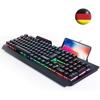 aLLreLi K9500U Gaming Tastatur