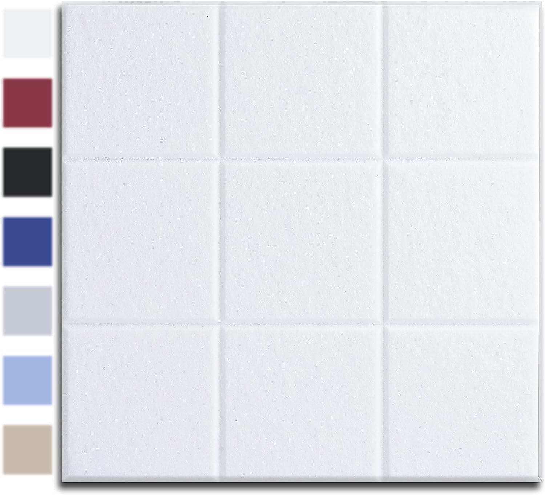 AutoGo Pack of 12 Acoustic Panels, 12
