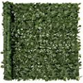 Best Choice Products Outdoor Garden 94x59-inch Artificial Faux Ivy Hedge Leaf and Vine Privacy Fence Wall Screen - Green