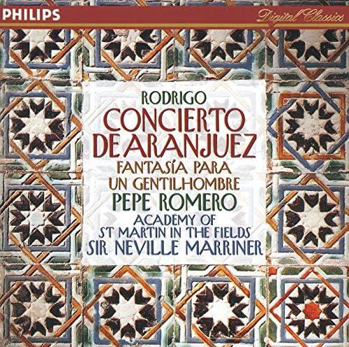 Pepe Romero, Academy of St. Martin in the Fields, Sir Neville Marriner & Joaquín Rodrigo