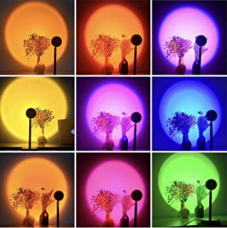 16 Colors Sunset Projection Lamp for Bedroom Room