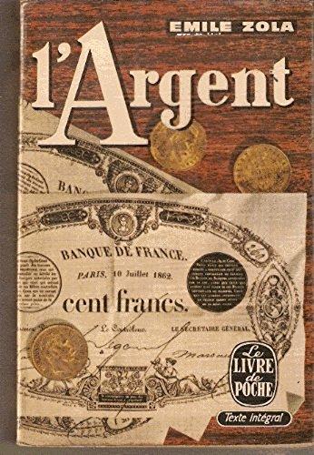 L' argent by Zola Emile