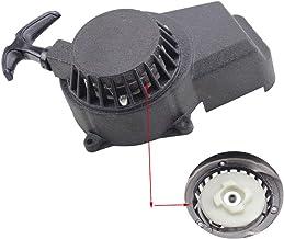 GOOFIT Avviamento a Strappo Alluminio Moto Tagliaerba 1 pezzo per GXV140 GXV160 HRB215 HRM195 HRM215 28400-ZG9-M00 Nero