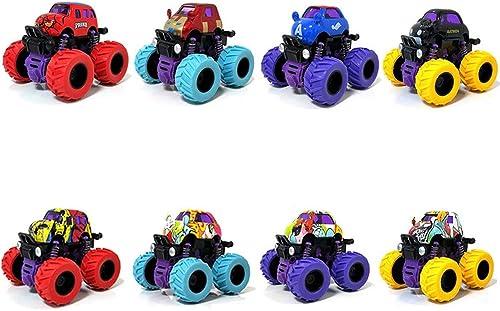 MEILA Baby Bus Spielzeugauto Legierung Verrückte Monster Auto Allradantrieb Offroad Jungen Und mädchen Kinder Tr eit Auto Modell Widerstand gegen Erdbeben Urlaub Geburtstagsgeschenk