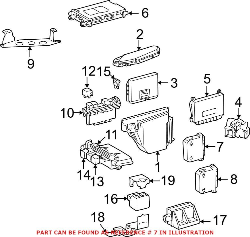 Genuine OEM Store Door Control Mercedes for Many popular brands 2038201585 Module
