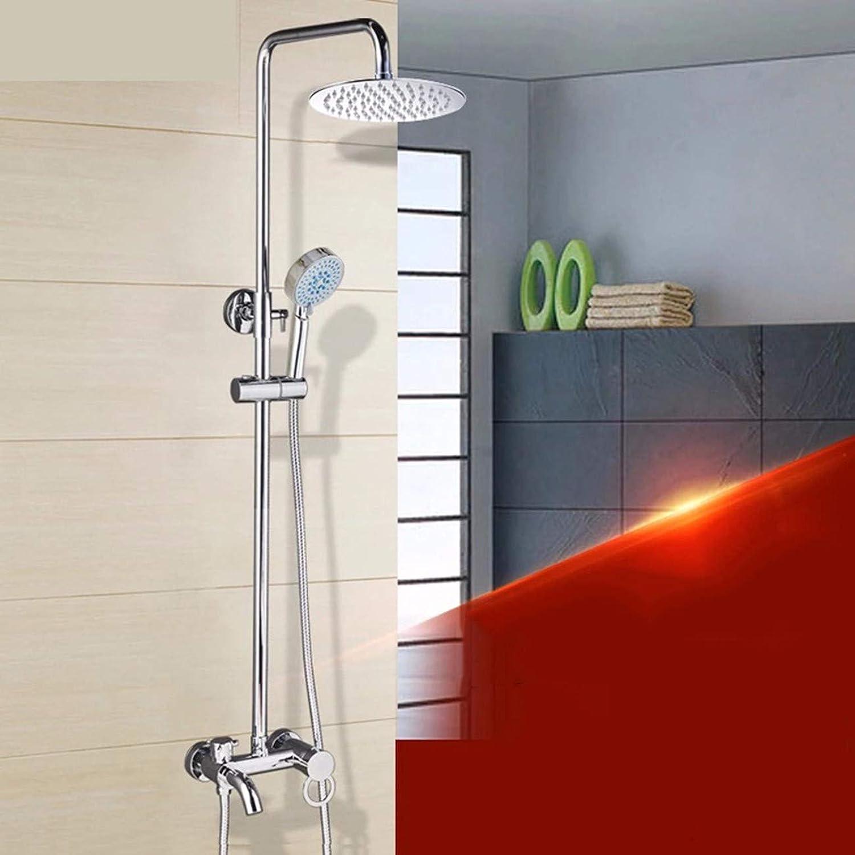Duschset Alle Duschen Duschen Wasserhahn Verchromte Kupfer Wurde Hei Und Kalt Duschen Duschen Setzen,B