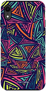Macmerise IPCIXRTMI1440 Neon Angles - Tough Case for iPhone XR - Multicolor (Pack of1)