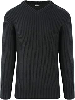 PRO RTX Mens Pro Acrylic Security V Neck Sweater