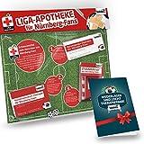 Nürnberg Kapuzen-Pullover ist jetzt die Liga-APOTHEKE für FCN Fans by Ligakakao.de Herren Hoody fußball Fan Fleece Sweatshirt rot-weiß