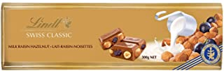 Lindt Gold Tablets Milk Raisen Nut Chocolate, 300 gm (Pack of 1)