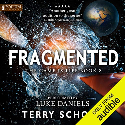 Fragmented cover art