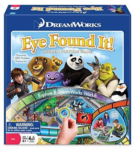 The Wonder Forge DreamWorks Eye Found It! Game