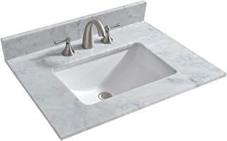 stone vanity top with sink