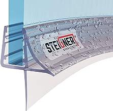 STEIGNER douchestrip, 80cm, glasdikte 6/7/ 8 mm, voorgebogen, pvc, vervangende afdichting voor ronde douches, UK09