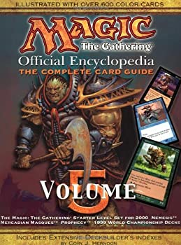 Magic  The Gathering -- Official Encyclopedia Volume 5  The Complete Card Guide
