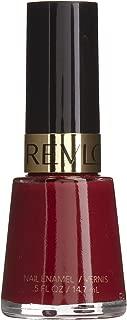 Revlon Nail Enamel, Raven Red [721] 0.50 oz (Pack of 2)
