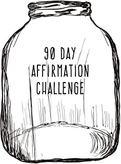 90 Day Affirmation Challenge: Bell Jar 6x9 Affirmation Journal