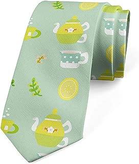 Mathillda Corbata, tazas y ollas para hombres con limones, verde ...