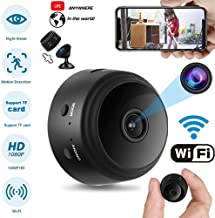 $35 » OVEHEL Spy Camera Wireless Hidden HD 1080P Small Security Video Camera Mini Nany Cam with Night Vision and Motion Activated Indoor Use Security Cameras Surveillance Cam for Car Home Office