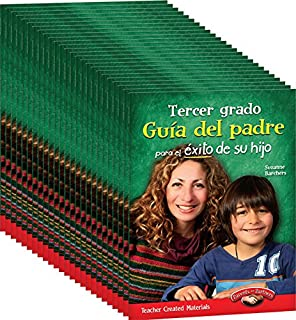 Teacher Created Materials - Third Grade (Spanish) Parent Guide for Your Child's Success - Set of 25
