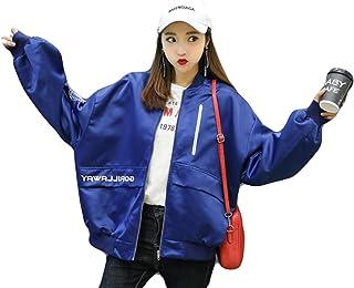 (ニカ)レディー ス ジャンパー 春 秋 コート ブルゾン ショートジャケット 長袖 薄手 原宿系 BF風 コート 韓国風 可愛い おしゃれ ブルゾン