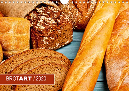 BROTART / 2020 (Wandkalender 2020 DIN A4 quer)