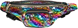 Sequin Fanny Pack for Women - Wholesale Festival Glitter Waist Pack with Adjustable Strap