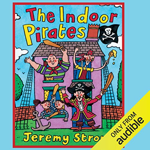 Indoor Pirates audiobook cover art