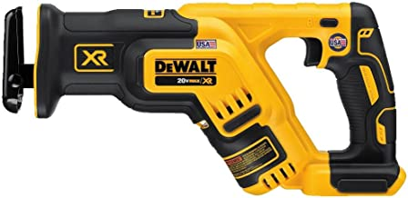 DEWALT 20V MAX XR Reciprocating Saw, Compact, Tool Only (DCS367B)