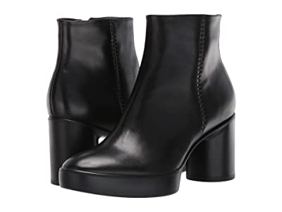 ECCO Shape Sculpted Motion 55 Ankle Boot (Black) Women