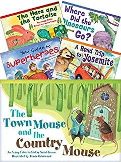 Teacher Created Materials - Classroom Library Collections: Literary Text Readers Set 2 - 10 Book Set - Grade 2 - Guided Reading Level I - M