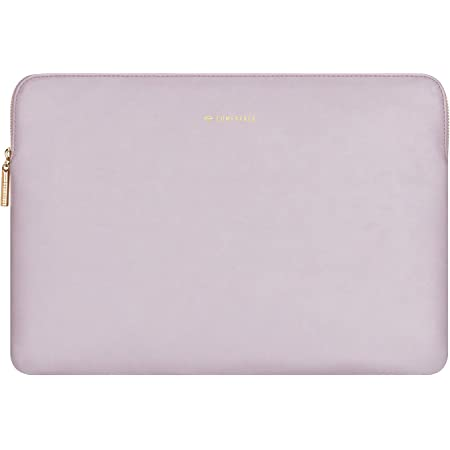 Pink PU Leather Bag Waterproof Cover Notebook Computer Case for Mac Comfyable Slim Protective Laptop Sleeve 13-13.3 inch Compatible for 13 inch MacBook Pro /& MacBook Air
