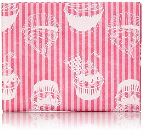 Crispy Wallet Slimsleeve Tasche Case Hülle XTE Stoff aus wasser- und reißfestem Tyvek für MacBook Air 11 und Notebook 11, Pink Bergwelt