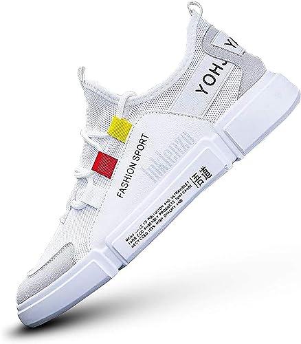 Men s Fashion Sneakers White 7