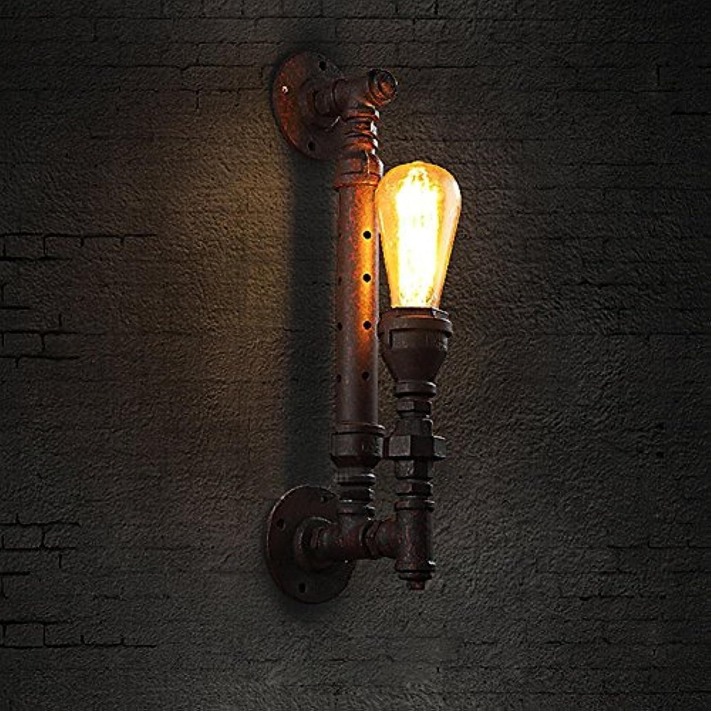 Modeen Vintage Steampunk Single Head Wandleuchten Rustic Industrial Style Lighting Pipe Retro Wandleuchter Rost Wandleuchte