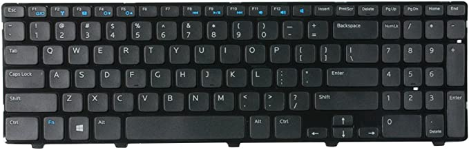 ACOMPATIBLE Replacement Keyboard for Dell Inspiron 15-3521 15-3537 15R-5521 15R-5528 15R-5537 M531R Vostro 2521 Laptop