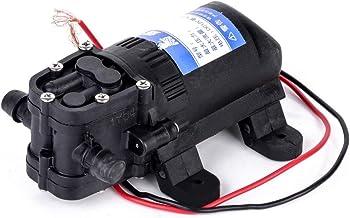 COMPANY LILI Mayitr 1pc Black Electric Diaphragm Water Pump Agricultural Sprayer Pump DC 12V 70 PSI