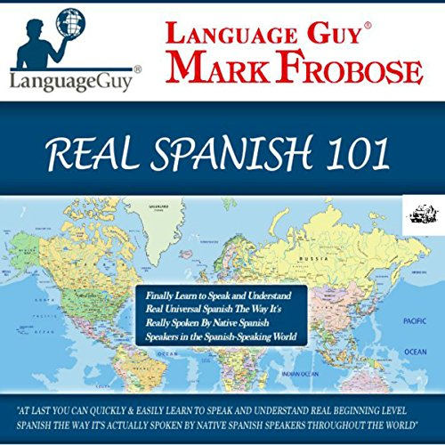 Language Guy's Real Spanish 101 audiobook cover art