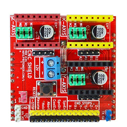 Un known A4988 3 D printer stepper CNC shield V2 for Arduino Accessory Replace Parts By Yourself