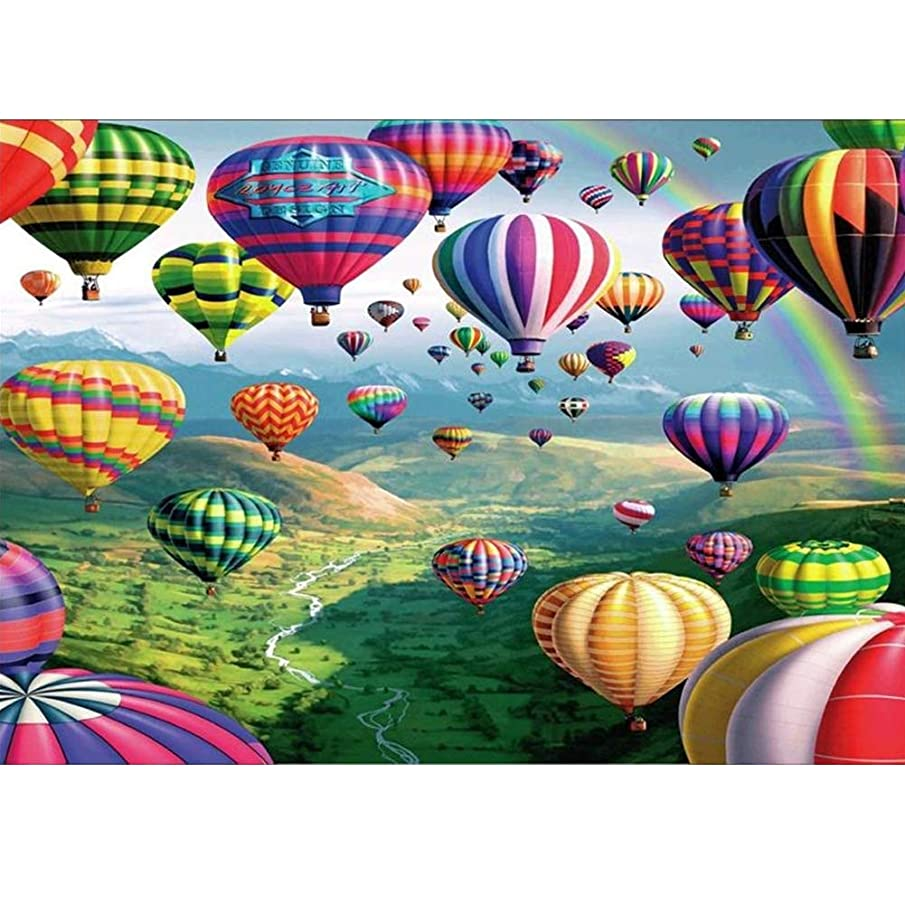 DIY Diamond Painting Kits Embroidery Rhinestone Crystal Cross Stitch by Number Decoration Painting 30x40cm (hot air Ballon)