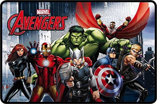 Star Marvel Avengers Felpudo Impreso Alfombra tamaño 50 x 80 cm