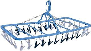 ダイヤ 干し分け角ハンガーストロング40 横約76cm×縦約38cm×高さ約33cm ピンチ数40