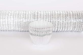 #550 (Regular Cupcake) 1000 Qty, Silver Foil Patty Pans - Baking Cups