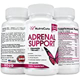 Best Adrenal Fatigue Supplements - NutraCura Adrenal Support for Women - Adrenal Fatigue Review