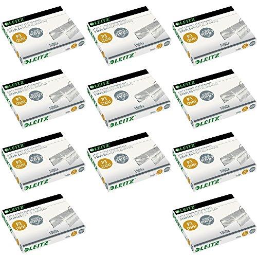 Leitz 55720000 Power Performance P3 Heftklammern, 26 / 6 (10er Pack)
