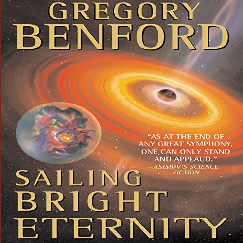 Sailing Bright Eternity audiobook cover art