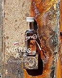 Wares of Knutsford 100 X Mini/Mini 20ml Glasflaschen mit silbernen Verschlüssen. Ideal für Mustergrößen, Hochzeitsbevorzugungen, Bastellager und kleine Geschenke