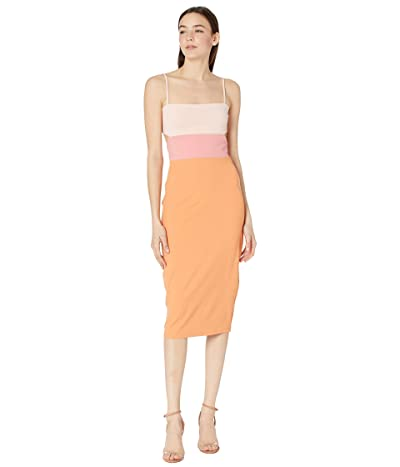 Susana Monaco Strap Color-Block Dress Women